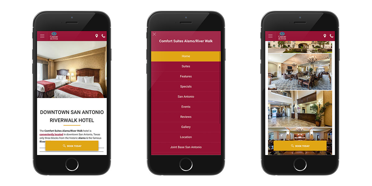 the key elements of a mobile website