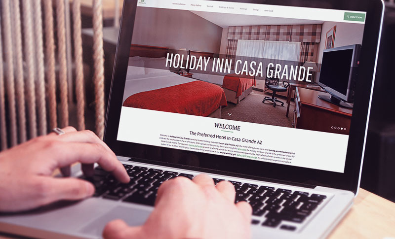 How The Holiday Inn Casa Grande's Website Went From Drab to Fab