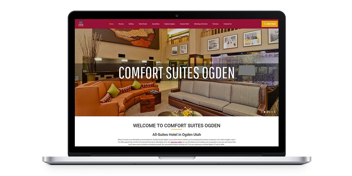 vanity website example