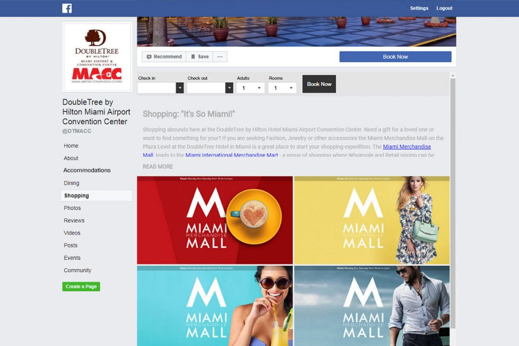 promote local attractions on your facebook page