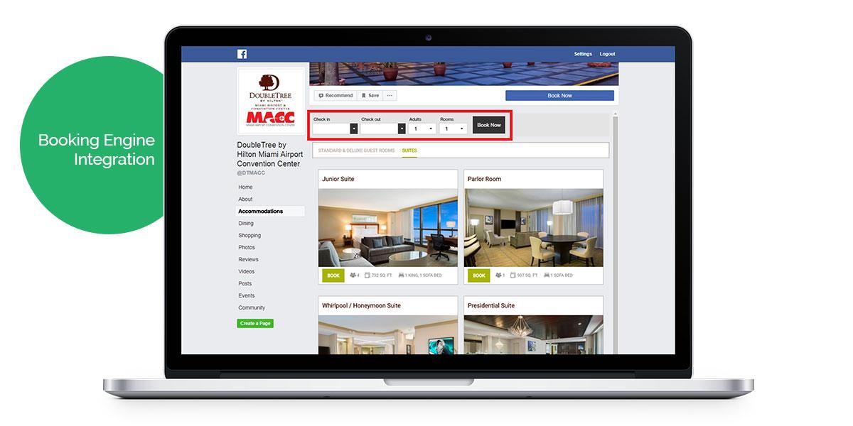 vizlly guest room facebook app