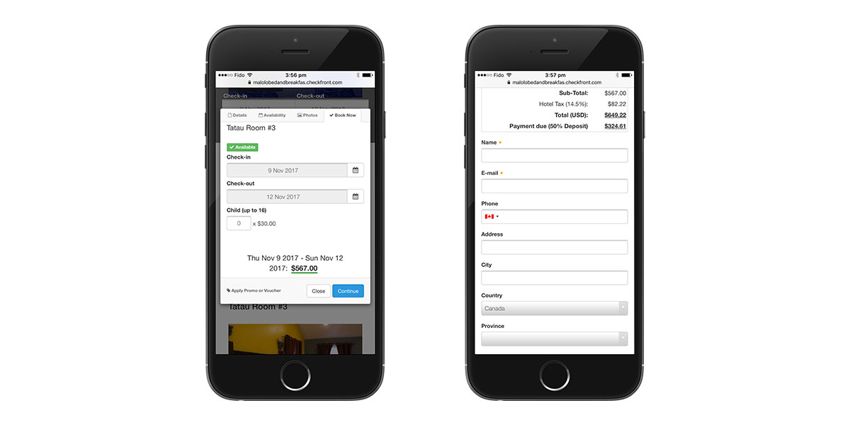 reduce booking abandonment on mobile
