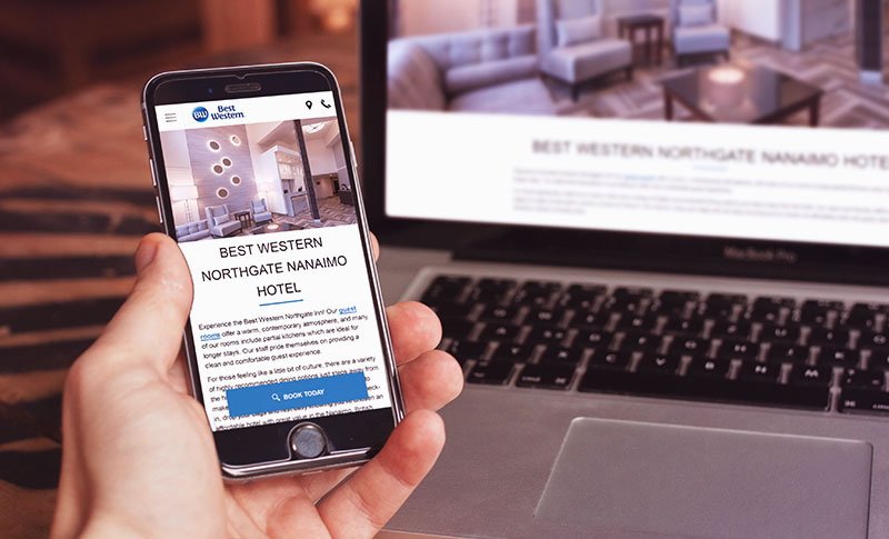 The Best Western Northgate Inn Updated Its Website to Drive More Direct Bookings