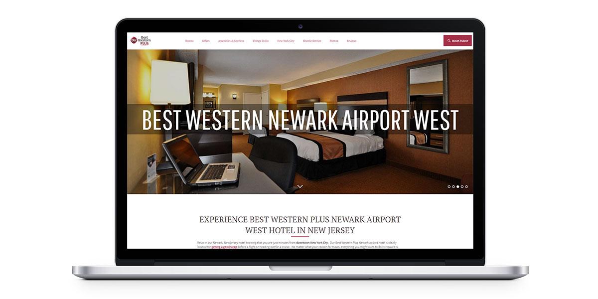 Best Western vanity website