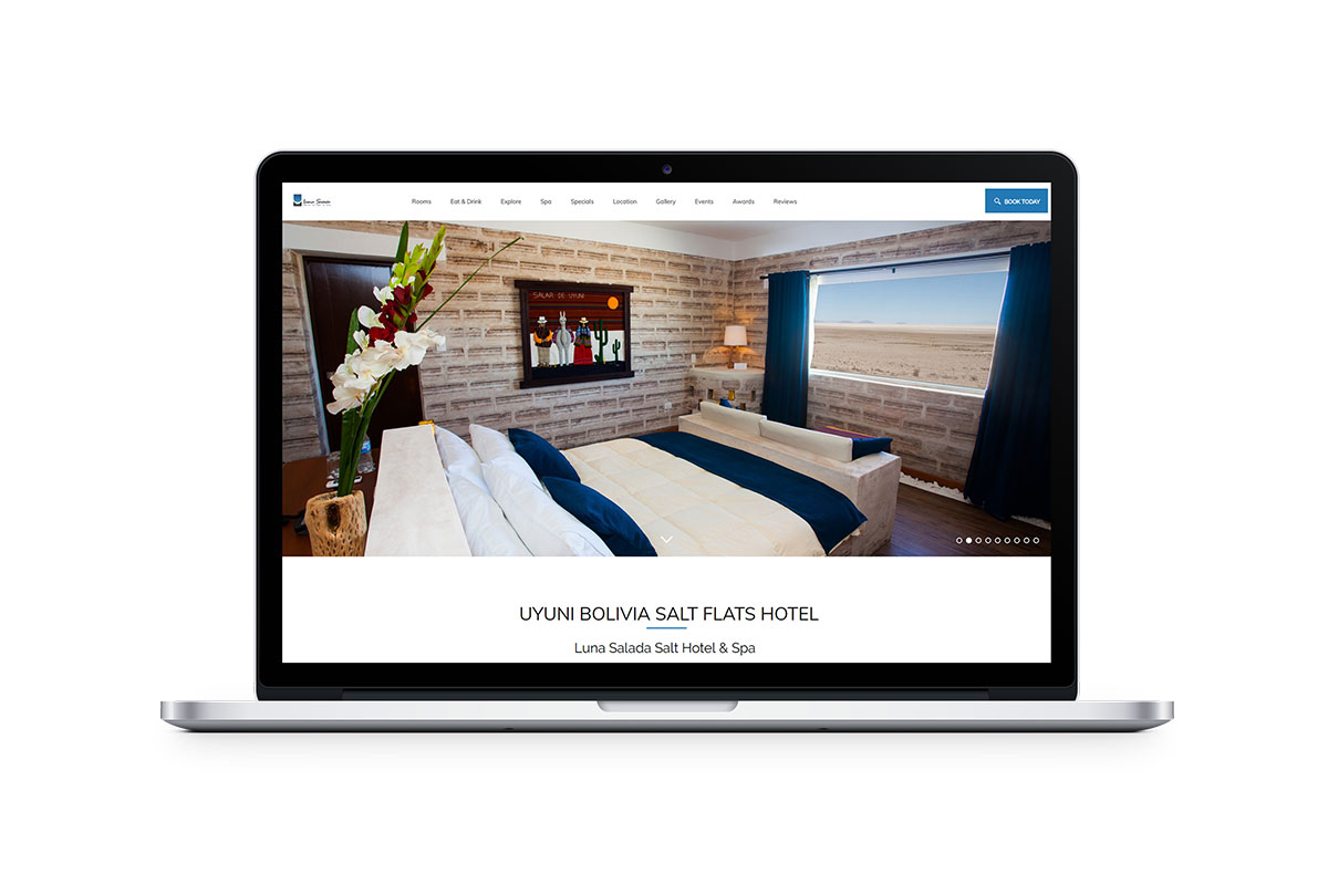 professional hotel website