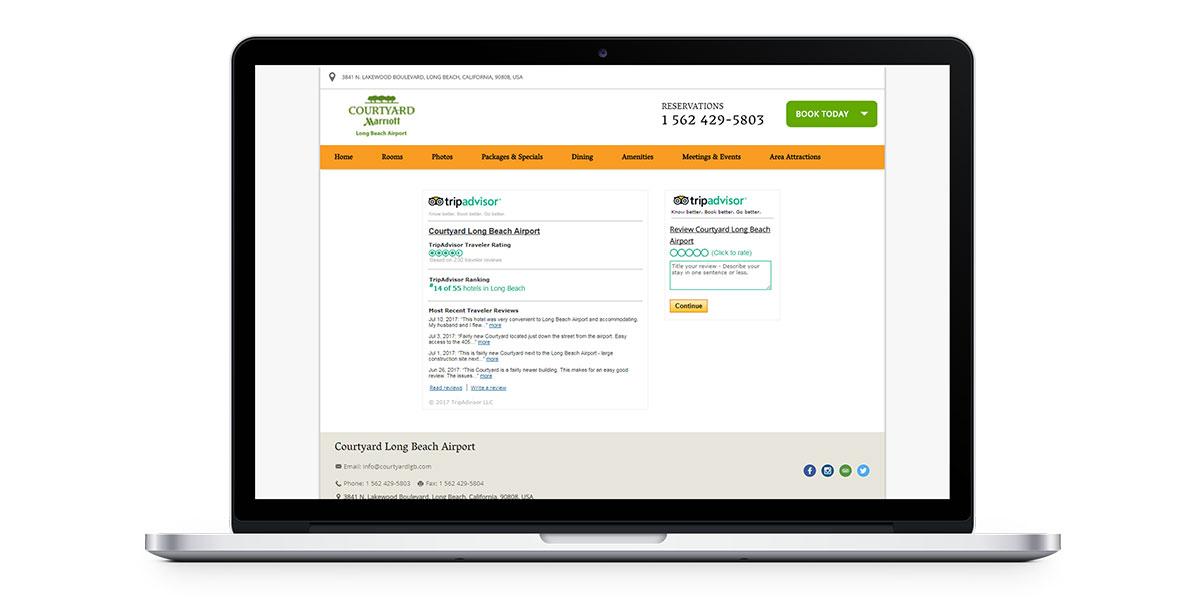 reviews help ensure business travelers book direct