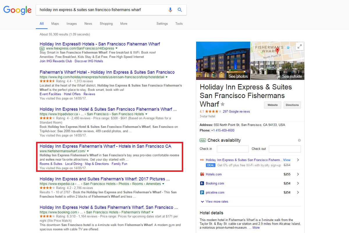 improve your branded keyword search with nap