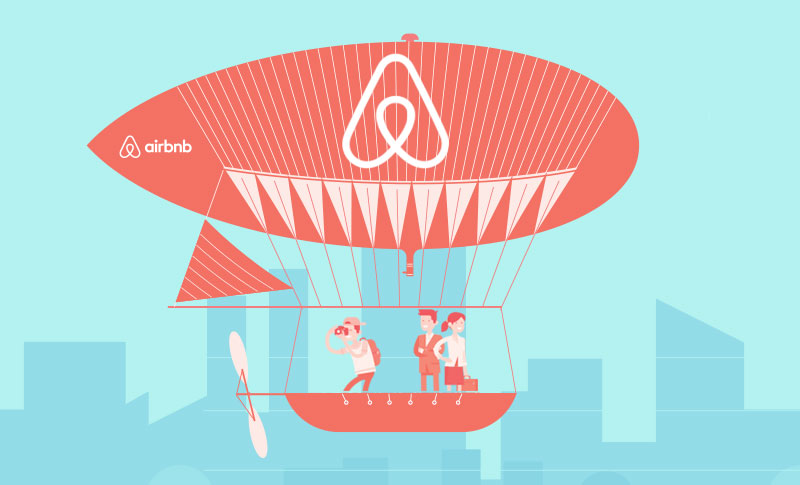 The Explosive Growth of Airbnb - An Infographic for